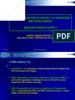 Organization for economic co-operation and development nuclear energy agency