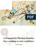 A Proposal for Election Security