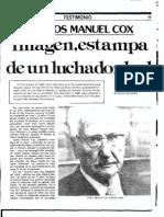 Carlos Manuel Cox