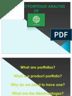 Dettol Portfolio Analysis