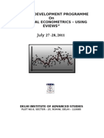 Final Brochure of Financial Econometrics-july 2011[1][1]