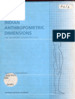 Anthropometrics Ergonomics Ppt Anthropometry Human Factors And Ergonomics