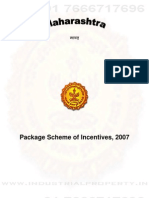 Maharashtra Package Scheme of Incentives 2007 -2011