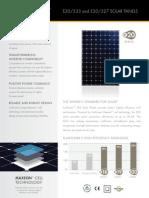 SunPower Datasheet e20 333 327 Ds en a4 w