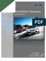 Ford Motor Analysis