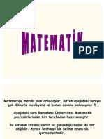 Matematik Problemi