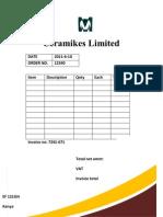 Ceramikes Limited