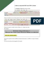 Ajouter du texte dans un document PDF Avec PDF-X Viewer
