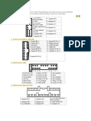Daewoo Radio Wiring Diagram - nice place to get wiring diagram on