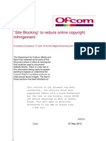 Ofcom Site Blocking Report With Redactions Removed