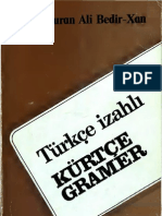 Türkçe izahlı Kürtçe Gramer