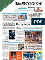 La Gazzetta Del Mezzogiorno 03.08.11