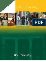 Siena College Catalog 2011-2012