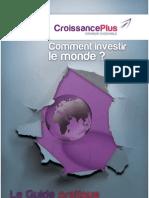 Guide Comment Investir Le Monde