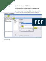 Partager un disque avec FileZilla Server