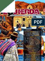 Revista Izquierda No14, agosto de 2011
