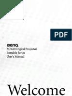 Mp610 User Manual