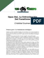 Opus Dei Y La Entronizacion Del Fanatism - Guzman_ Cristobal