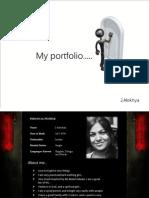 Alekhya Portfolio