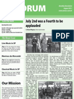 Forum August 2011 issue