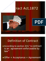 Contract Act & Sale of Goods Actfor IB & Retail 26.11