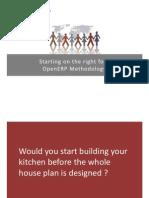 OpenERP Methodology