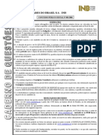 Consul Plan 2006 Inb Inspetor de Controle de Qualidade Prova