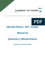052 Newmans Newco API 600 CAST STEEL MANUAL en ESPAÑOL