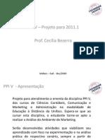 Apresentação Projeto PPI V