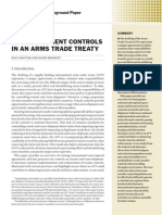 Transit and trans-shipment controls in an arms trade treaty