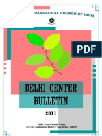 Delhi Center Bulletin 2011
