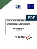 APREMAT. Plan de Sostenibilidad