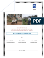 Rapport Evaluation Gup