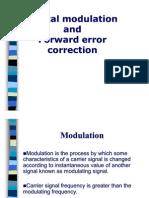 Presentation on Digital modulation and Forward error correction