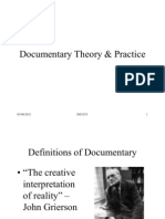 Documentary Theory & Practice