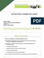 Effective Communication 1