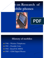 Ppt on Mobile Phones