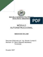 Módulo Negocios-Online