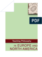 Working Document Teaching Philosophy Milan2011 En
