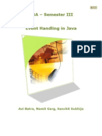 Event Handling in Java