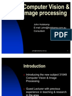Computer Vision & Image Processing