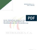 Guía Práctica Calibración Canal de Medición de Temperatura 4 Elementos, GP-C-CMT-02.pdfGP-C-CMT-02
