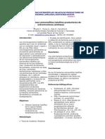MICROORGANISMOS EXTREMÓFILOS HALOFILOS PRODUCTORES DE EXTREMOZIMAS