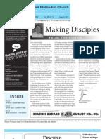 Newsletter - August 5th