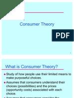 Consumer Theory (1)