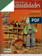 el mundo de las manualidades - pasta francesa (fimo) - nº 25 ano 2000