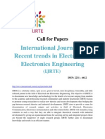 Call for Papers IJRTE
