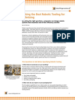 Picking the Best Robotic Tooling for Palletizing