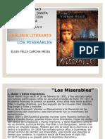 ANÁLISIS LITERARIO LOS MISERABLES