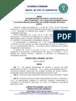 Ordin Continut Document a Tie Aviz Isc